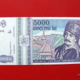 ROMANIA - 5.000 Lei 1993 - Bancnota romaneasca