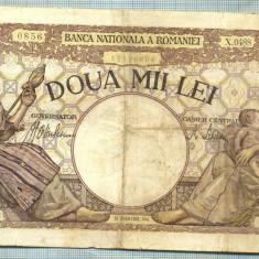 A1072 BANCNOTA-ROMANIA-2000 LEI- 18 NOEMVRIE 1941-SERIA0488-starea care se vede - Bancnota romaneasca