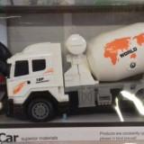 Betoniera cu radiocomanda tip volan