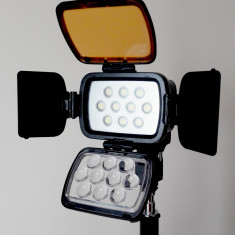 Lampa Video LED-1800 + Baterie F970 - Lampa Camera Video