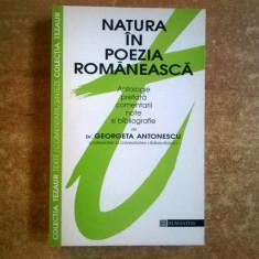 Natura in poezia romaneasca {Colectia Tezaur} - Eseu