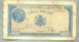 A1078 BANCNOTA-ROMANIA-5000 LEI-21 AUGUST 1945-SERIA0709139-starea care se vede