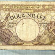 A1052 BANCNOTA-ROMANIA-2000 LEI- 18 NOEMVRIE 1941-SERIA0973-starea care se vede - Bancnota romaneasca