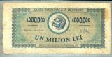 A1077 BANCNOTA-ROMANIA-1000000 LEI-16 APRILIE 1947-SERIA0118-starea care se vede