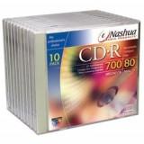 Nashua CD-R Set 10 buc CD-Recordable  700MB 80min carcasa individuala