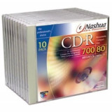 Nashua CD-R Set 10 buc CD-Recordable  700MB 80min carcasa individuala