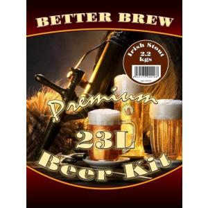 Better Brew Irish Stout - kit pentru bere de casa 23 litri.Ca si Guiness