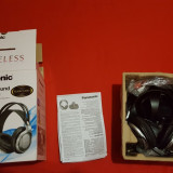 Casti wireless Panasonic RP-WF950E-S, Casti On Ear, Active Noise Cancelling