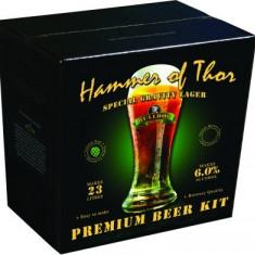 Bulldog Hammer of Thor - kit pentru bere de casa 23 litri. Bere lager nordic, Blonda