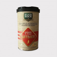 Black Rock Crafted Witbier - kit pentru bere de casa 23 litri. Bere weizen, Blonda
