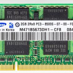 Ram rami leptop 2GB DDR3 2RX8 PC3-8500-07-00
