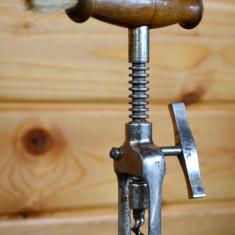 Tirbuson vechi cu pensula (perie) reclama Tire Buchon DBGM / 32 - circa 1920