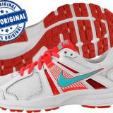 Adidasi dama Nike Dart 10 - adidasi originali - running - alergare, Culoare: Alb, Marime: 36.5, Textil