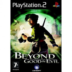 Beyond Good And Evil Ps2 Sony Play Station 2 - Jocuri PS2 Ubisoft, Actiune, Multiplayer