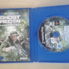 Tom Clancy's Ghost Recon - Jungle Storm - JOC PS2 Sony Playstation - Jocuri PS2 Ubisoft, Actiune, 16+, Multiplayer