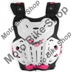 MBS Leatt Girl Brustpanzer 4.5 Jackie, Wei/Pink, Girl Uni, P:16/117, Cod Produs: LB1630010AU - Armura moto