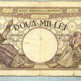 A1063 BANCNOTA-ROMANIA-2000 LEI- 18 NOEMVRIE 1941-SERIA0208-starea care se vede - Bancnota romaneasca