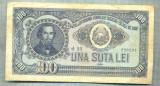 A1097 BANCNOTA-ROMANIA(RPR) - 100 LEI- 1952 -SERIA 280207 -starea care se vede