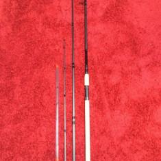 3 Lansete feeder Daiwa Black Widow 3.90m/150g 3+2sec - Lanseta