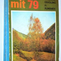 Almanah editat in lb. Germana Komm mit ' 79 reclame Radio, TV - uri, Peco. s.a.
