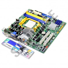 Placi de baza AM2 AM2+ FOXCONN, 4xDDR2 Video Radeon HD3200 DVI, VGA, GARANTIE!! - Placa de Baza Gigabyte, Pentru AMD, MicroATX