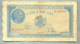 A1081 BANCNOTA-ROMANIA-5000 LEI-21 AUGUST1945-SERIA0440235-starea care se vede