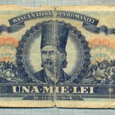 A1092 BANCNOTA-ROMANIA- 1000 LEI- 18 IUNIE 1948-SERIA 1911-starea care se vede - Bancnota romaneasca