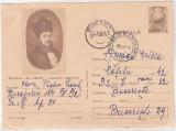 Bnk fil Muzeul Th Aman - Enachita Vacarescu - intreg postal circulat 1968, Dupa 1950