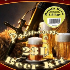 Better Brew Bandit Brew - kit pentru bere de casa 23 litri. Ca si Corona
