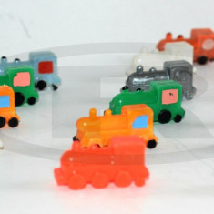 Miniaturi, locomotive romanesti din plastic dur - anii '80 - Miniatura Figurina