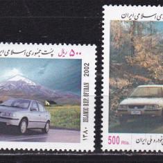 Iran 2002 automobile MI 2876-2877 MNH w38 - Timbre straine, Nestampilat