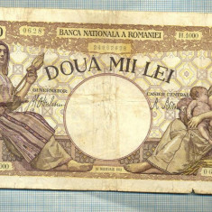 A1058 BANCNOTA-ROMANIA-2000 LEI- 18 NOEMVRIE 1941-SERIA1000-starea care se vede - Bancnota romaneasca