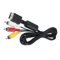 Cablu AV PS1 PS2 PS3 PlayStation - NOU, Cabluri