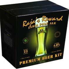 Bulldog Raja's Reward IPA - kit pentru bere de casa 23 litri. IPA de calitate, Blonda