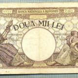 A1066 BANCNOTA-ROMANIA-2000 LEI- 18 NOEMVRIE 1941-SERIA0117-starea care se vede - Bancnota romaneasca