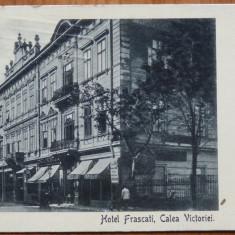 Carte postala expediata de Marietta Sadova in Italia in 1920, actrita legionara - Autograf