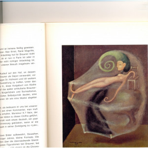 Victor Brauner-Catalog 1964/1965 in limba germana cu foto color si alb-negru