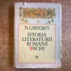 N. Cartojan – Istoria literaturii romane vechi - Eseu