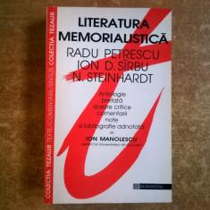 Literatura memorialistica {Colectia Tezaur} - Eseu