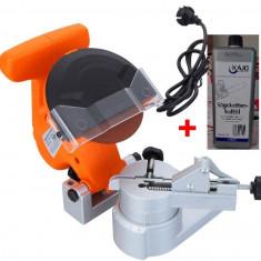 Aparat pentru ascutit lanturi de drujba FX-KSF700 + Ulei lant - Masina de ascutit