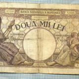 A1064 BANCNOTA-ROMANIA-2000 LEI- 18 NOEMVRIE 1941-SERIA0195-starea care se vede - Bancnota romaneasca