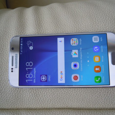Samsung s6 gold, liber retea, impecabil - Telefon mobil Samsung Galaxy S6, Auriu, 32GB, Neblocat