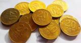Moneda 20 Lei - ROMANIA, anul 1992 *cod 2871  CIRCULATA = pret pe bucata!