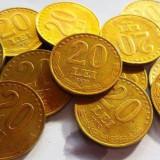 Moneda 20 Lei - ROMANIA, anul 1992 *cod 2871 pret pe bucata! - Moneda Romania