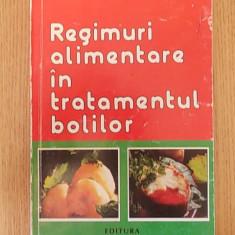REGIMURI ALIMENTARE IN TRATAMENTUL BOLILOR- AUREL POPESCU BALCESTI - Carte Medicina alternativa