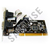 PCI  SERIAL INTERFACE CARD 2x Serial (COM, RS-232), nou, GARANTIE