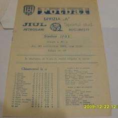 program     Jiul  Petrosani  -  Sportul  Stud.