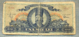 A1089 BANCNOTA-ROMANIA- 1000 LEI- 18 IUNIE 1948-SERIA 2212-starea care se vede