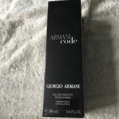 Parfum Giorgio Armani Armani code men 100 ml sigilat - Parfum barbati Armani, Apa de toaleta