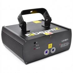 Beamz LS-RB11 cu laser Red-Blue Gobo DMX - Laser lumini club